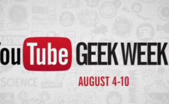 youtube geek week logo