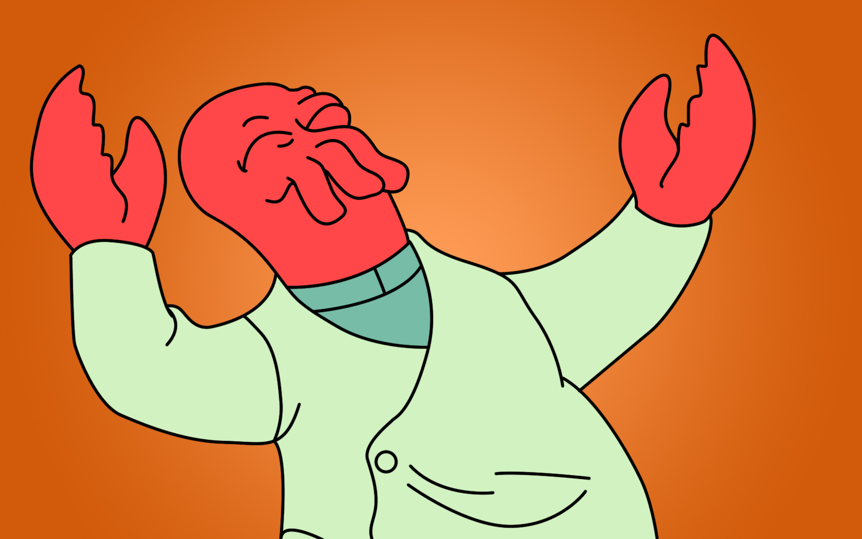 zoidberg for eyewire, neuron, futurama