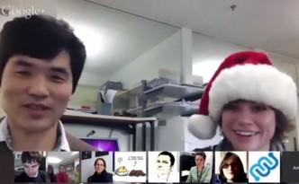 Sebastian Seung and Amy Robinson, Sebastian Seung, Amy Robinson, eyewire, newtonmas