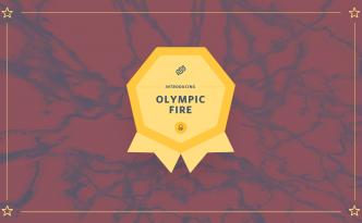 olympic fire neuron, marathon, august, olympic fire